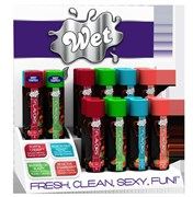 Дисплей Wet Fun Flavors Countertop- 16 шт. + тестеры
